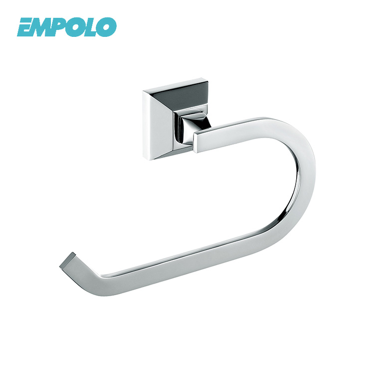 Industrial-Style Pipe Wall-Mounted Tissue Roll Hanger Toilet Earing Roll Paper Holder