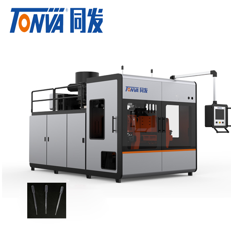 New 1L extrusion blow molding machine to make enema and dropper