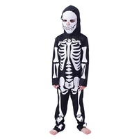 Wholesales Skeleton jumpsuit Kids costume for Halloween party