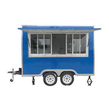Street Hot Dog Cart Food Trailer Custom Food Truck Trailer