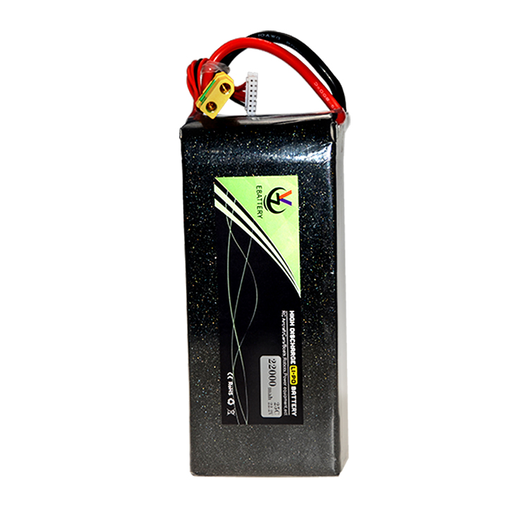 6s 16000mah 20000mah 22000mah 22.2V 25C lipo <strong>battery</strong> 16ah 20ah 22ah rechargeable <strong>batteries</strong> for drone uav