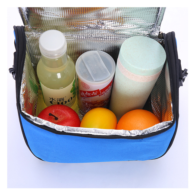 <strong>Manufacturers</strong> wholesale aluminum film plus cotton fresh ice bag outdoor picnic lunch bag