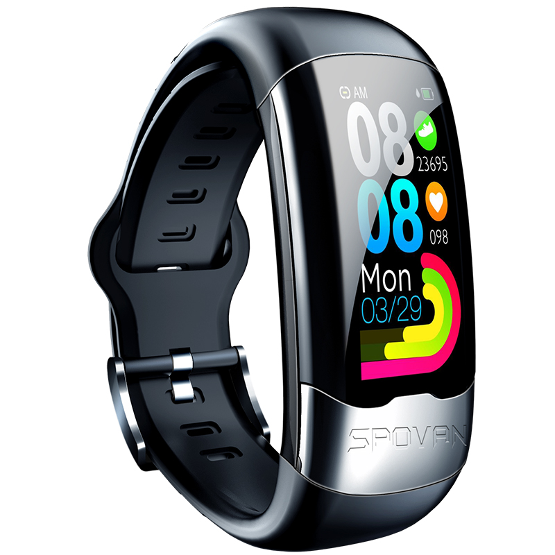 High Efficiency ECG&amp;PPG&amp;HRV Smart Fit Band Activity Fitness Tracker <strong>H02</strong> Smart Bracelet