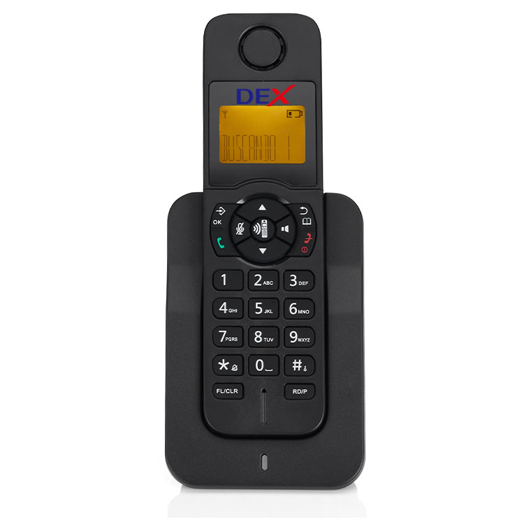 DEX DECT Phone Best Quality Wireless Telephone for Home Office Factory Wholesale Custom Functions Cordless Telephone