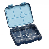 Special travel lunch box plastic leakproof kids snack box sandwich metal dome office bento box