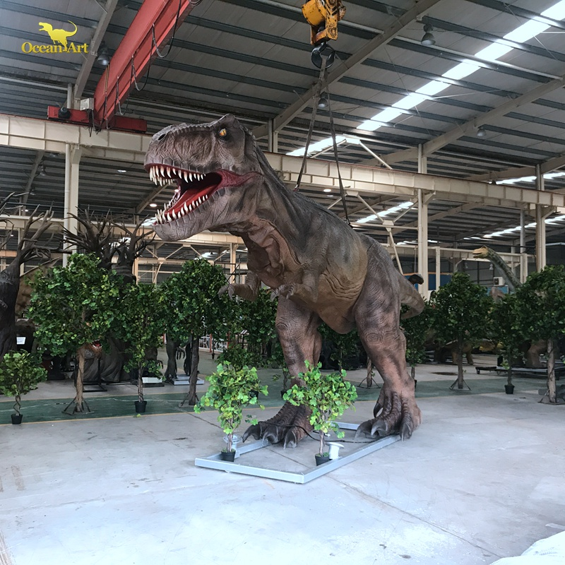 life size animatronic dinosaur sculpture model