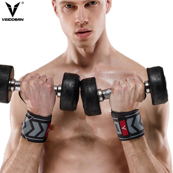 Adjustable Workout Sports Wrist Wraps Protector Training Straps Weight Lifting Wrist Support wrist bands gym