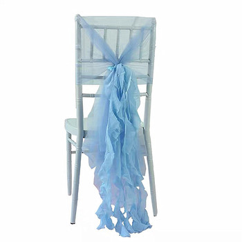 Chiffon Chair Sash Home Hotel Use Chair Back Cover Wedding Chair Decoration