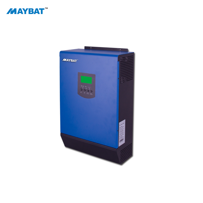 MAYBAT Hybrid solar inverter <strong>1000w</strong> 2000w 3000w 4000w 5000w 6000w off grid pure <strong>sine</strong> <strong>wave</strong> power hybrid inverter