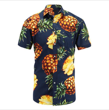 Summer <strong>Men's</strong> Hawaiian <strong>Shirt</strong> Fashion Short Sleeved <strong>Men's</strong> Pineapple Printed Casual <strong>Shirt</strong>