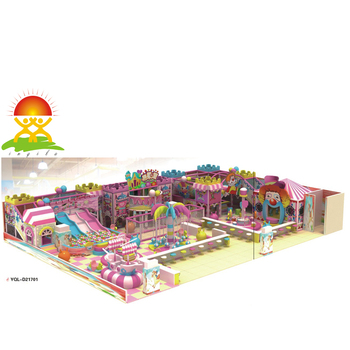 Kids Indoor Soft Playground Children Play Equipment Indoor Playhouse Amusement Park