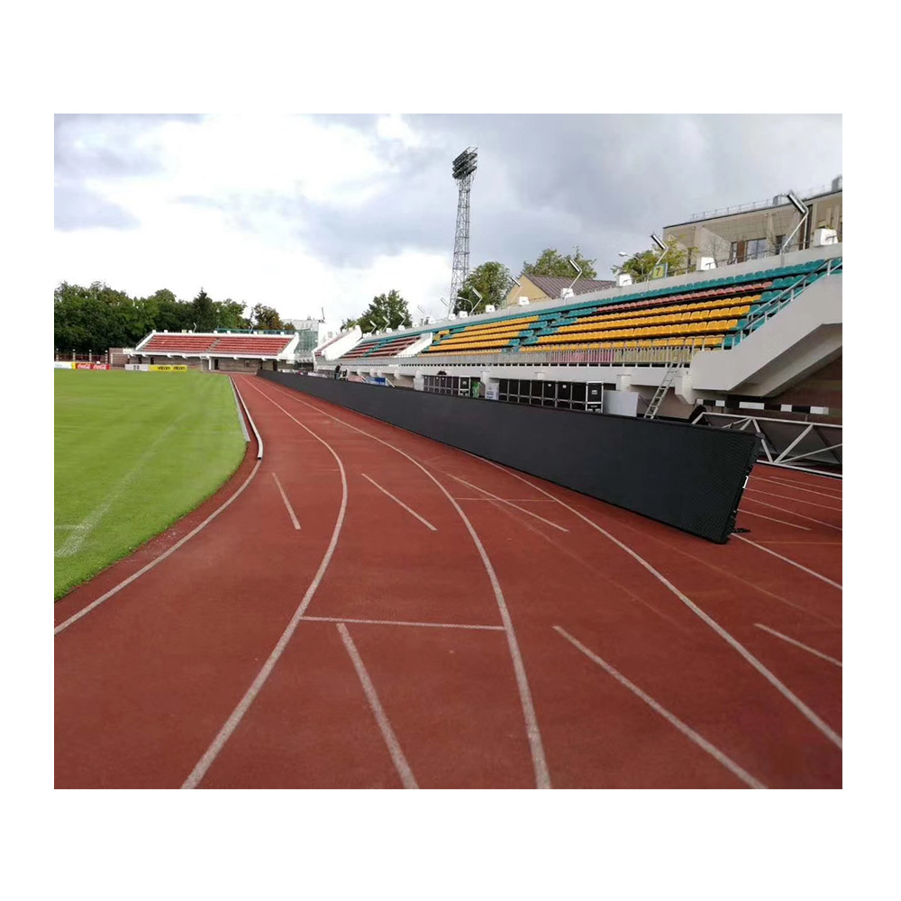 Hongwei Stadium Outdoor <strong>Advertising</strong> Led Display <strong>Screen</strong> P8 <strong>P10</strong> Football LED Wall