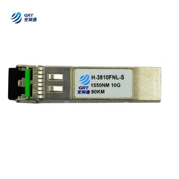 Latest H-3810FNL-S 10G 1550nm 80km SFP+ Juniper Switch Compatible Optical Transceiver