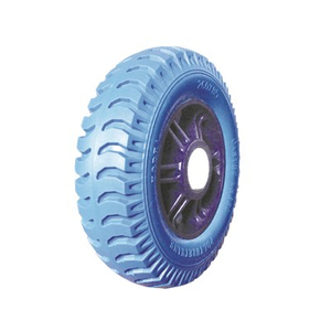260*85 pu foam wheel with high quality rubber wheel tire