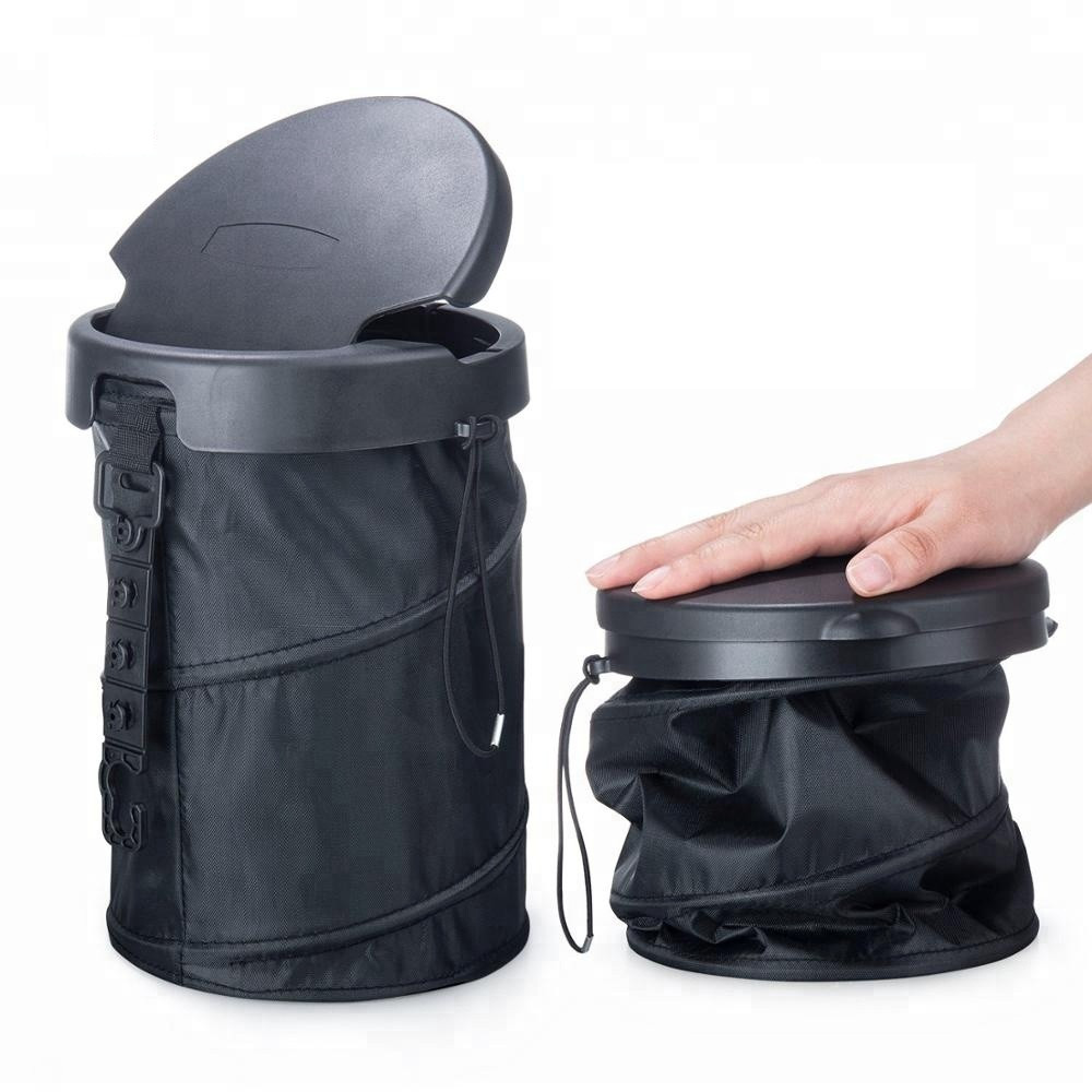 Hottest Foldable High Quality Car Trash Can Garbage Bin for Car Use