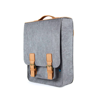 New printed small felt shoulder bag from china
