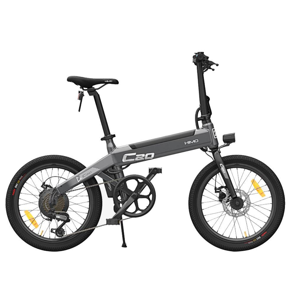 [EU PL STOCK FREE SHIPPING] HIMO C20 Foldable Electric Moped Bicycle 250W Motor 25km/<strong>h</strong> Hidden In Hoverboard Skateboard E Scooter