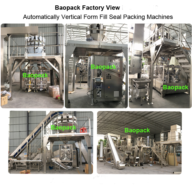 Baopack VT52A automatic pouch granule jelly vertical packing machine