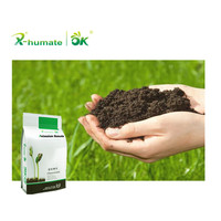 High quality biological fertilizer potassium humate powder water soluble humic acid with 60%HA