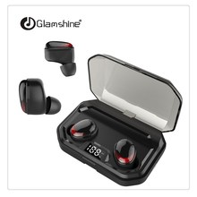 TWS Wireless Mini Bluetooth Earphone For Xiaomi Huawei Mobile Stereo Earbud Sport Earphone With Mic Portable Charging Box