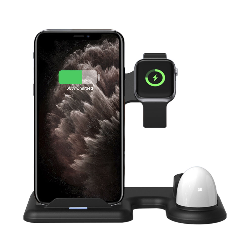 2020 Most Popular Wireless Charging Station with Apple <strong>Watch</strong> Charging Dock, Stand Charger for Phone <strong>Watch</strong> for Airpods