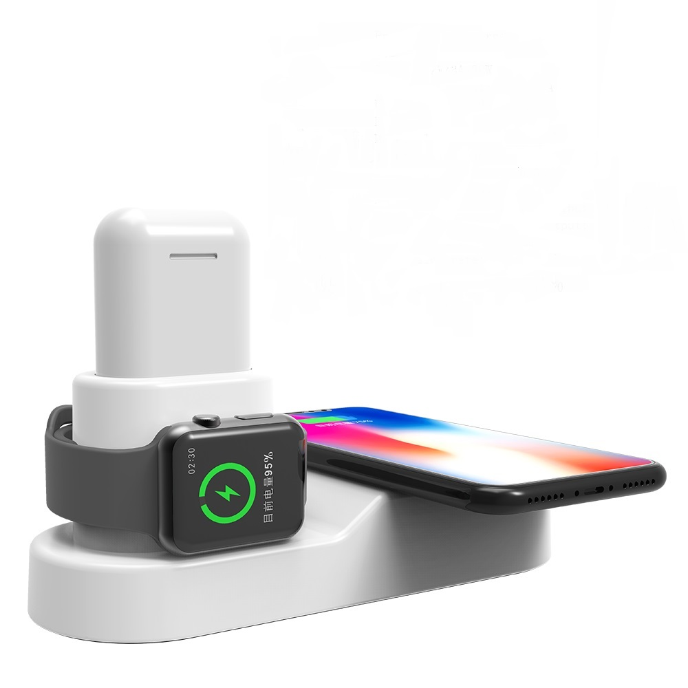 36W/12V 4in1 Wireless Charger Fast charging for iPhone xr for samsung galaxy for Apple <strong>Watch</strong> for Airpods