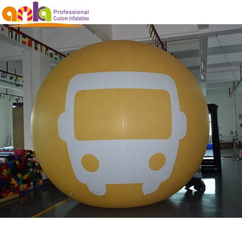 High Quality PVC Advertising Inflatable Air Balloon With Helium
