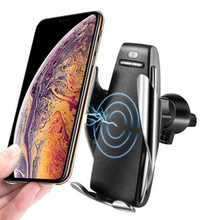 New Product Wireless Car Charger Mount Qi-Certified For Iphone 11 Pro Max Plus etc 10W Fast-Charging Car Charger Wireless Holder