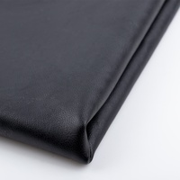 Super low price Imitated cotton backing Pu synthetic leather 0.8mm for shoes upholstery craft seat wallet