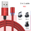 3 in 1 cable(Red)