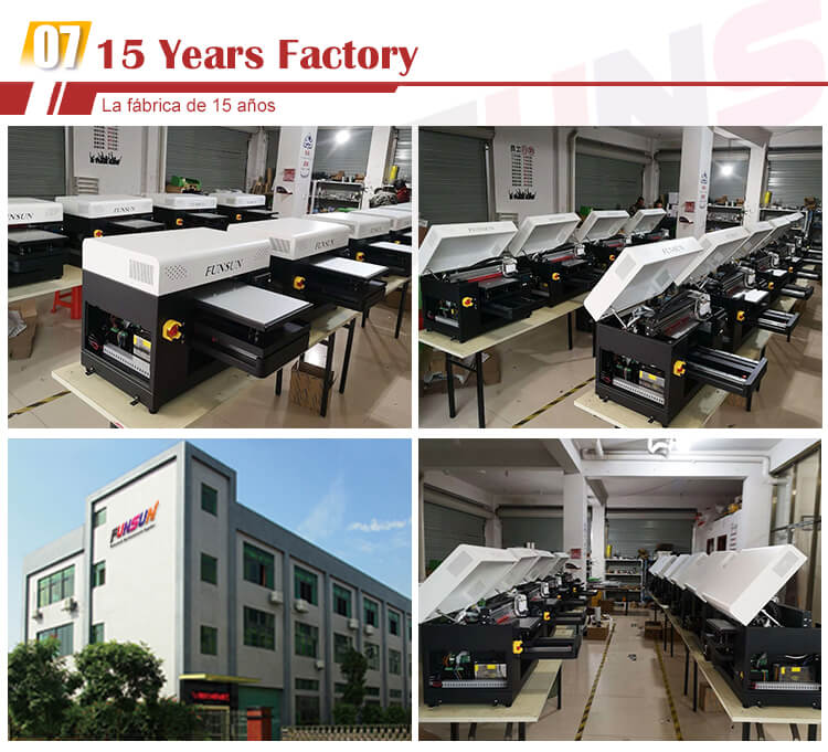 FUNSUN A3 printer 1440dpi Fabric Garment Textile Printer Machine tshirt dtg printer t-shirt printing machine