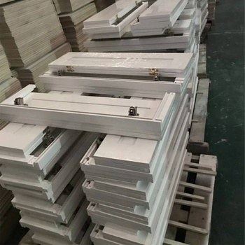 Ready To Assemble Shaker White Kitchen Cabinet Door For Sale
