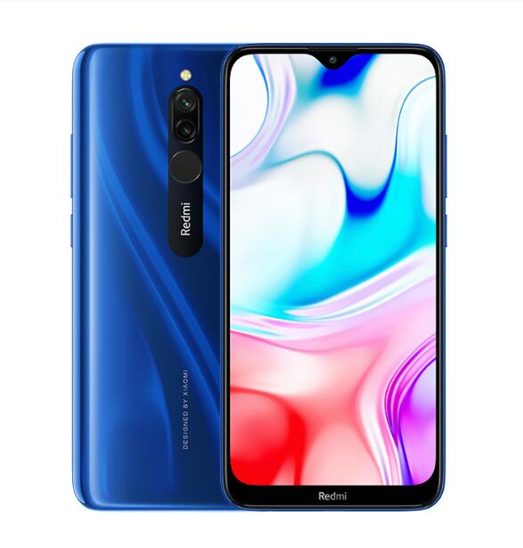 Xiaomi Redmi 8 6.22 inch 4GB+64GB 5000mAh Battery MIUI <strong>10</strong> OS System 6.22 inch Water-Drop Full Screen <strong>Mobile</strong> Phone