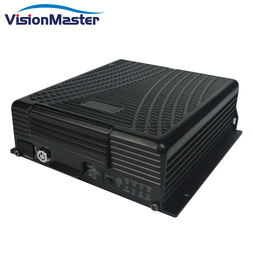 <strong>4</strong> <strong>channel</strong> hd video h 264 mobile network dvr with gps <strong>3g</strong> wifi bus dvr system