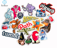 Outdoor Durable Custom Die Cut Stickers Make your own sticker Quality Printing for 25 Years by EverGreater
