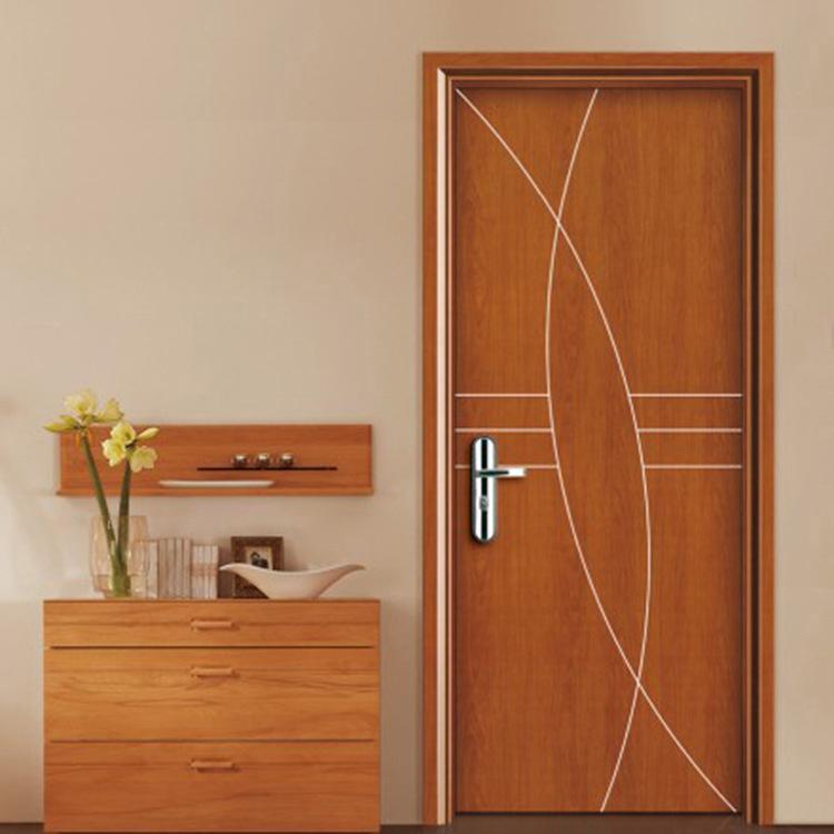 Interior Waterproof House Door for Hotel Apartment WPC Doors Factory Price