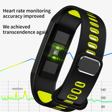 colorful <strong>smart</strong> band T02 with ECG,heat sensor Bluetooth steps record,sleep monitor,heart rate