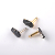 Audio jack gold plated Right angle 6.35mm mono stereo plug for instrument cable
