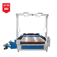 Vision Scanning Laser Cutting Machine for Sublimation Printed Fabric in Roll with Auto Feeding MC 1620