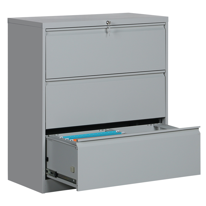 <strong>3</strong> lateral drawer file cabinet metal stroge cabinets steel file cabinet for office