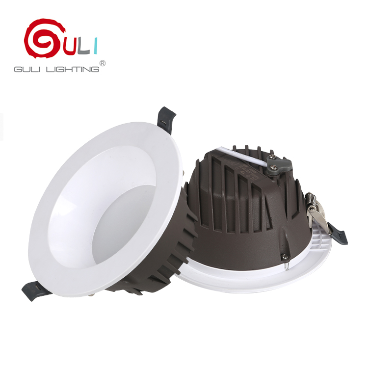 Hight quality indoor smd 12w 24w 30w 40w recessed mounted round led <strong>downlight</strong>