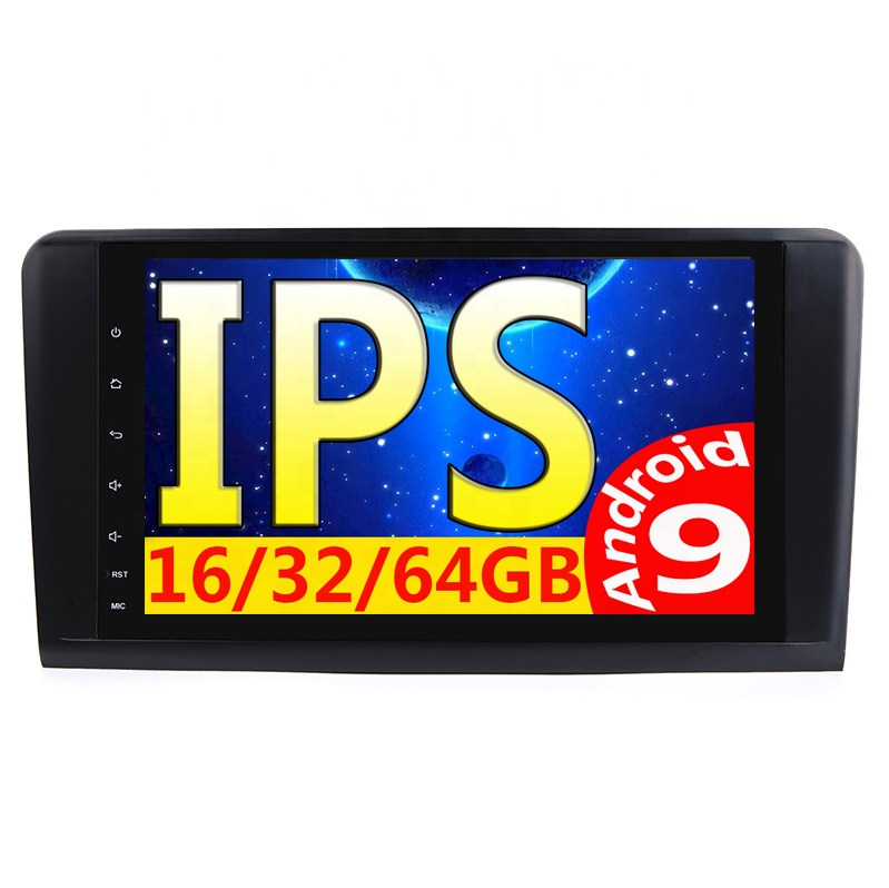 9&quot; ml <strong>Android</strong> 9 <strong>w164</strong> auto multimedia with rds DSP hd ips screen 2G+16/32G Car GPS fit FOR Mercedes-Benz Ml 320/ML 350/<strong>W164</strong> GL