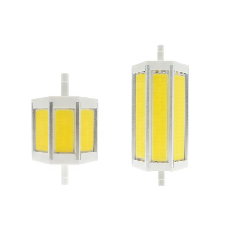 Dimmable R7S COB Led <strong>Light</strong> Lamp R7S Led Corn <strong>Bulb</strong> J78mm <strong>J118</strong> 118mm 15W AC85-265V 110V 220V Lampada Led Halogen Lamps Floodlight