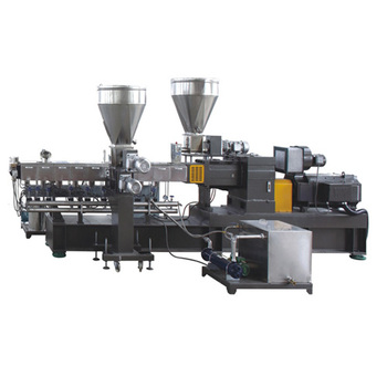 Best quality low price lab twin screw extruder KET20/ Water strip granulator/PE PP EVA ABS PC PS etc+CaCo3 granulator