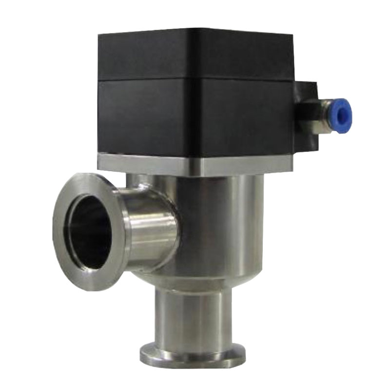 Sus304 Pneumatic Control <strong>Z</strong> High Vacuum Kf100 Stainless Seat Steel Dn40 Type Angle Needle Valve 304 <strong>1</strong>/2&quot;