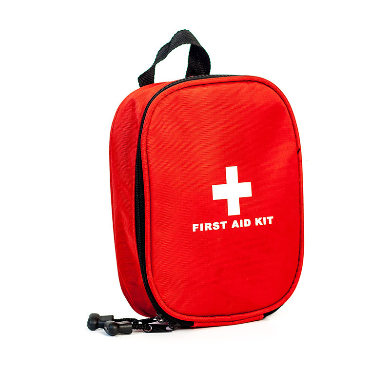 Small Red First Aid Kit 420D Nylon Travel Medical Survival bag Empty First Aid Bag