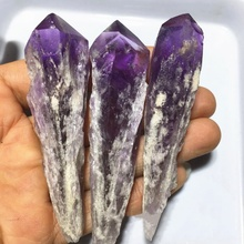 Wholesale high quality natural crystal specimen wand rough amethyst <strong>point</strong>