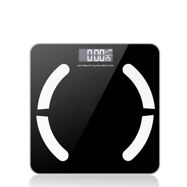 Bluetooth 180kg LED Electric Measuring Body Weight Scale Digital Bathroom Scale