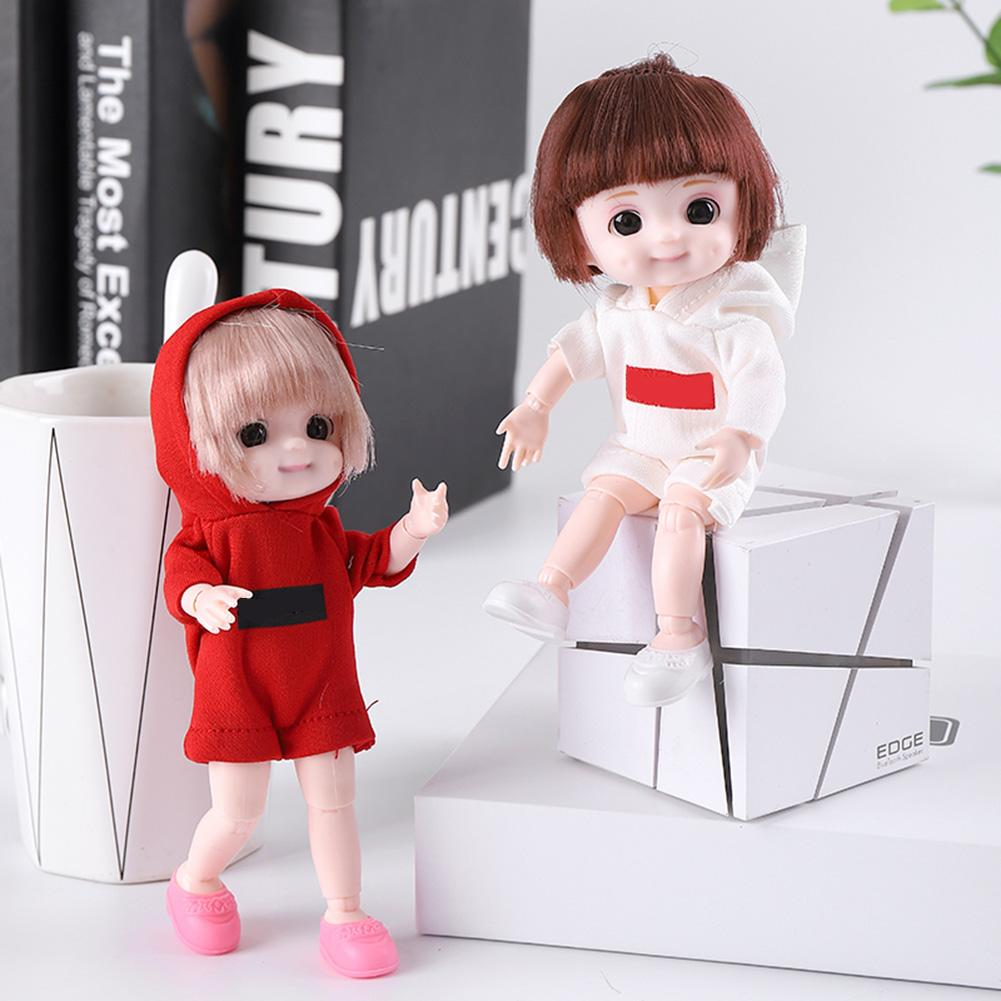 Girl doll realistic and durable simulation baby doll toy plastic children pretend to play house toy gift indoor and outdoor