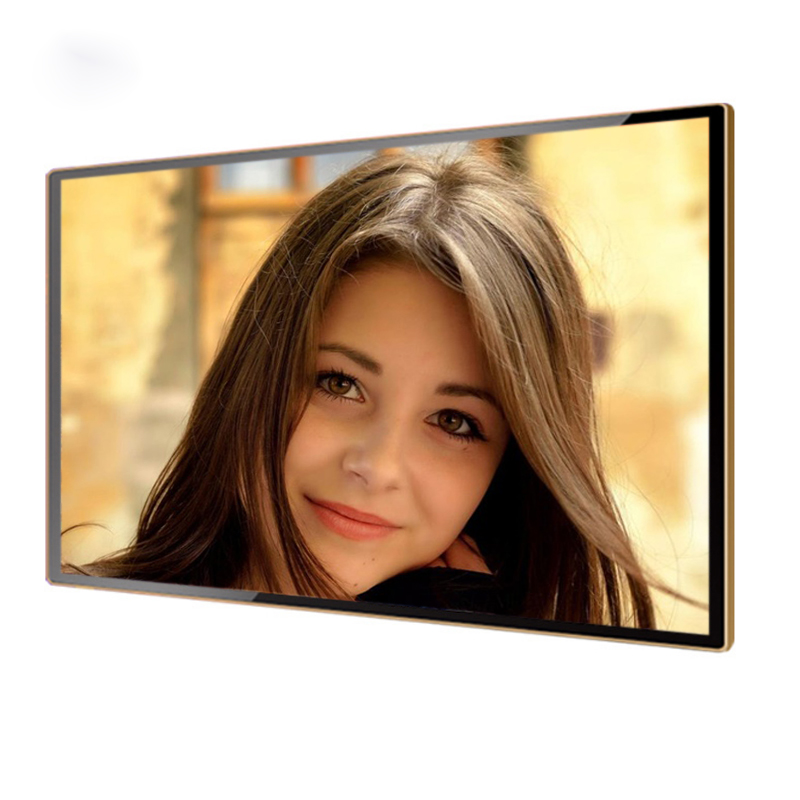 Commercial Advertising Ultra Thin Wall Mount display 10 15 17 24 inch digital photo frame digital lcd picture frame